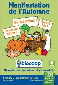 Marché des Producteurs Bio à Biocoop Cabestany le samedi 16/11/2013