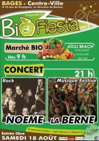 Marché Bio et Bio Fiesta le samedi 18 août à Bages