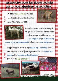 Rencontre avec les éleveurs Bio de la  Boucherie Biocoop et leurs Bêtes