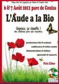 L'aude à la Bio les 6 et 7 août au Parc de Couiza