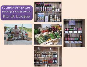 Ouverture d'une Boutique de Producteurs bio locaux à Trouillas : EL VINYER D'EN PARLOU