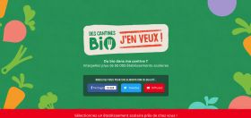 PETITION - Signez pour plus de bio dans 50 000 cantines scolaires !