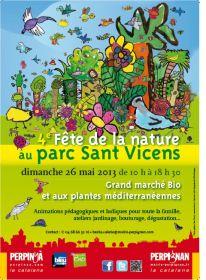 Fête de la Nature au Parc San Vicens le 26 Mai