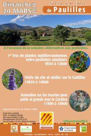 1er troc de plantes méditerranéennes entre jardiniers amateurs le dimanche 20 mars