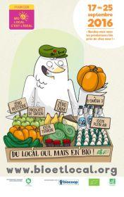 Manger Bio et Local c'est l'idéal !
