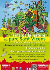 7ième Fête de la Nature au parc Sant Vicens dimanche 22 mai