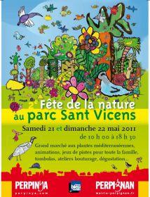Fête de la Nature au parc Sant Vicens les 21-22 Mai