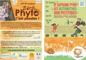 Semaine des Alternatives aux pesticides 2016 dans les Pyrénées-Orientales