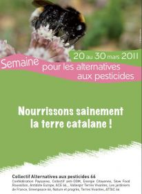 Alternatives aux pesticides du 18 au 26 Mars 2011