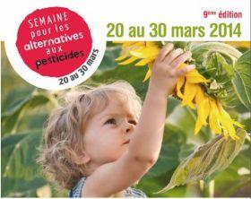 9ième édition de la Semaine pour les alternatives aux pesticides du 20 au 30 mars