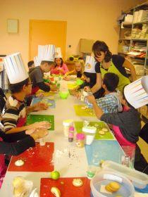 Semaine du goût dans les écoles organisée par le SIST en partenariat avec les producteurs  du Civambio 66