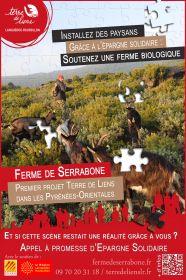 Collecte d'épargne citoyenne pour l'achat de la ferme de Serrabone