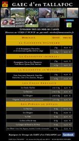 FLASH INFO :La Massanaise vous propose une vente de boeuf et merguez de brebis bio