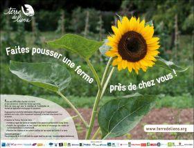 Nouvelle campagne Terre de Liens : Faites pousser une ferme !
